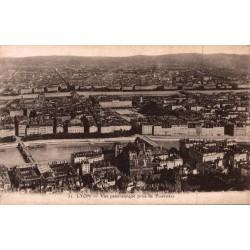Lyon vue panoramique prise...