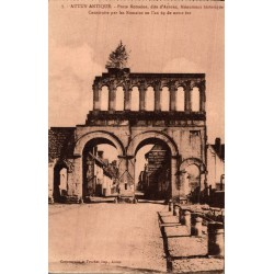 Autun antique porte romaine...