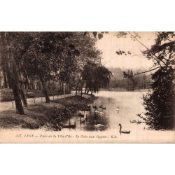 Lyon parc de la tete d'or...