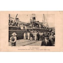 Salonique embarquement de...