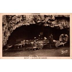 Royat la grotte des...