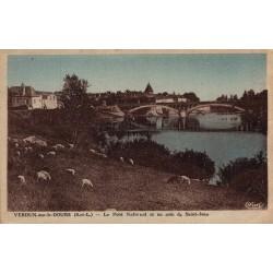 Verdun sur le doubs le pont...