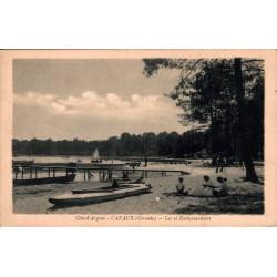Cazaux lac et embarcadaire