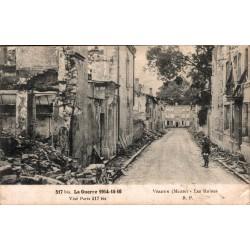 Verdun les ruines guerre de...