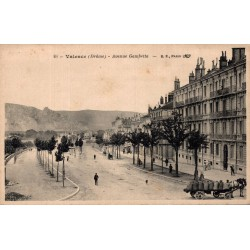 Valence avenue Gambetta